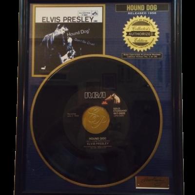 Vinile Elvis presley Hound Dog