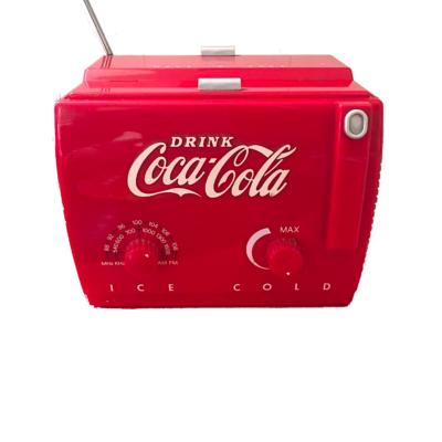 Radio Drink Coca Cola Ice Cold