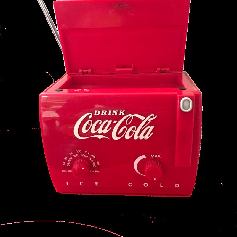Radio Drink Coca Cola Ice Cold