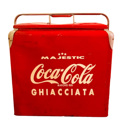 Frigo coca cola ice chest majestic
