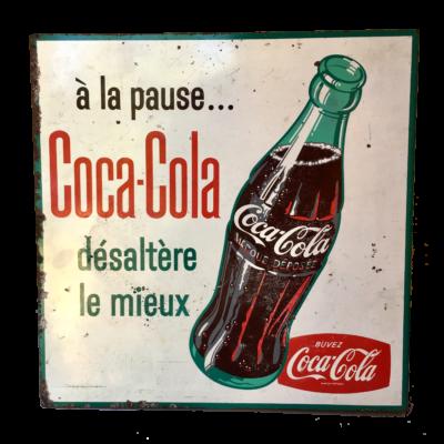 Insegna tabella Coca Cola