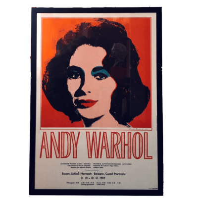 Andy Warhol Locandina Liz